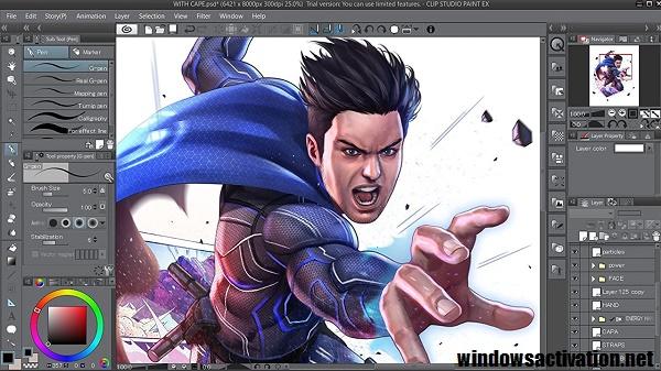 Clip Studio Paint EX 1.9.11 Crack + Torrent Free Download (2020)