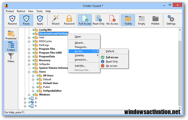 Folder Guard 20.1 Crack + License Key Free Download 2020