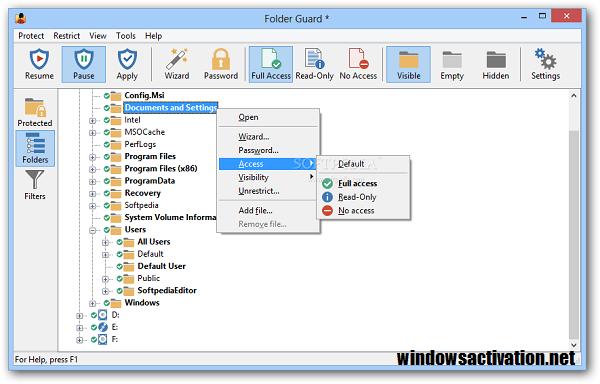Folder Guard 20.4 Crack + License Key 2021 Free Download {Latest}