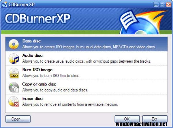 CDBurnerXP 4.5.8.7128 Crack + Serial Key Free Download 2020
