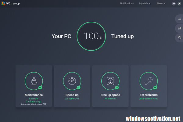AVG PC TuneUp 20.1.1997 Crack + Serial Key Free Download [Newest]